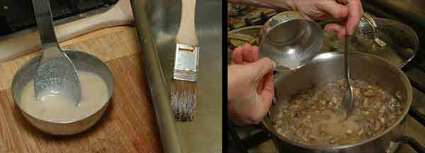 almond roux for green bean casserole vegan
