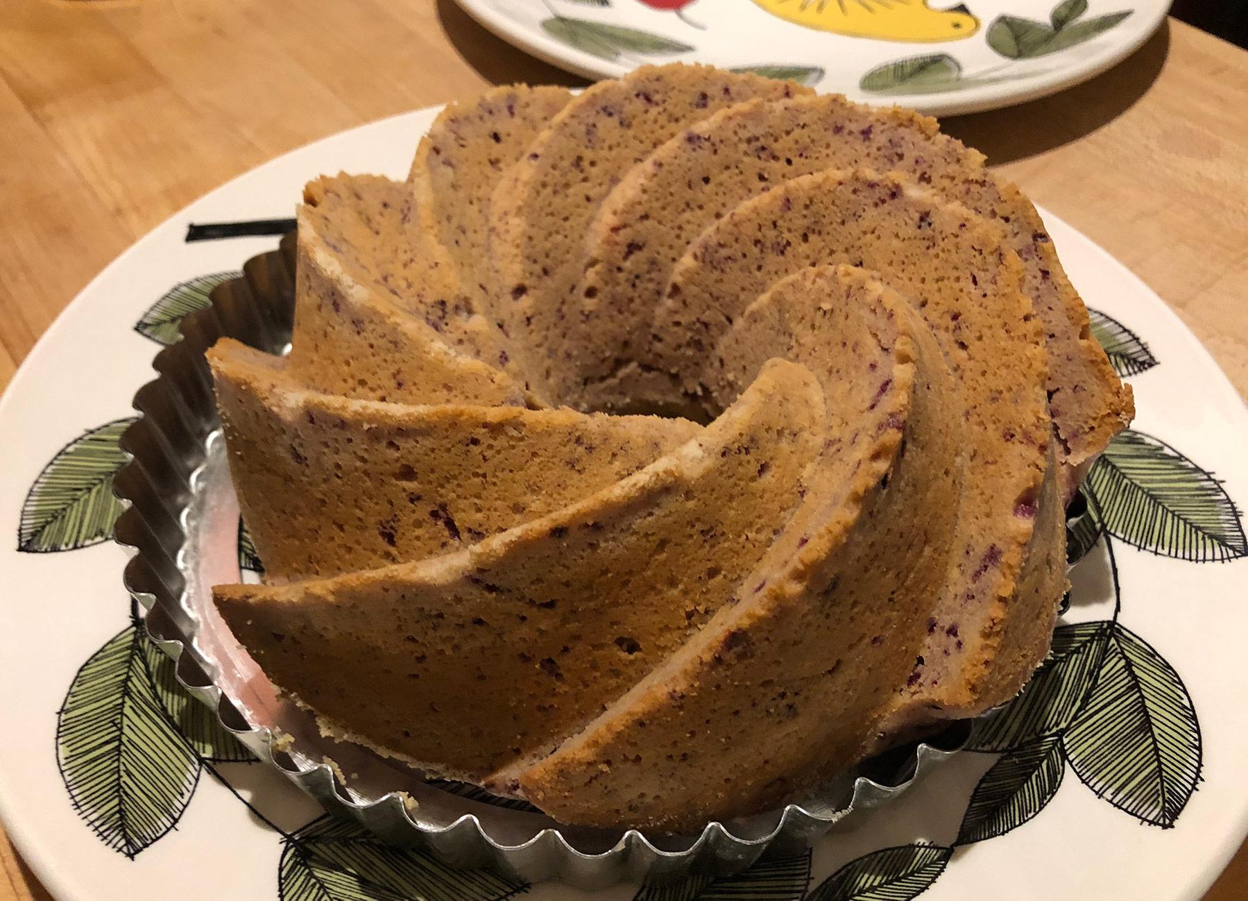cranberry lemon cake