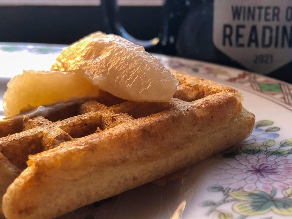 waffles January 30, 2021 with locally milled flours